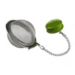 Boule à Thé Macaron Vert